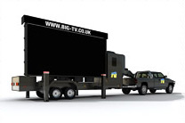 Outdoor Mobile LED Screen for Hire